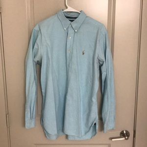 Turquoise Button Down